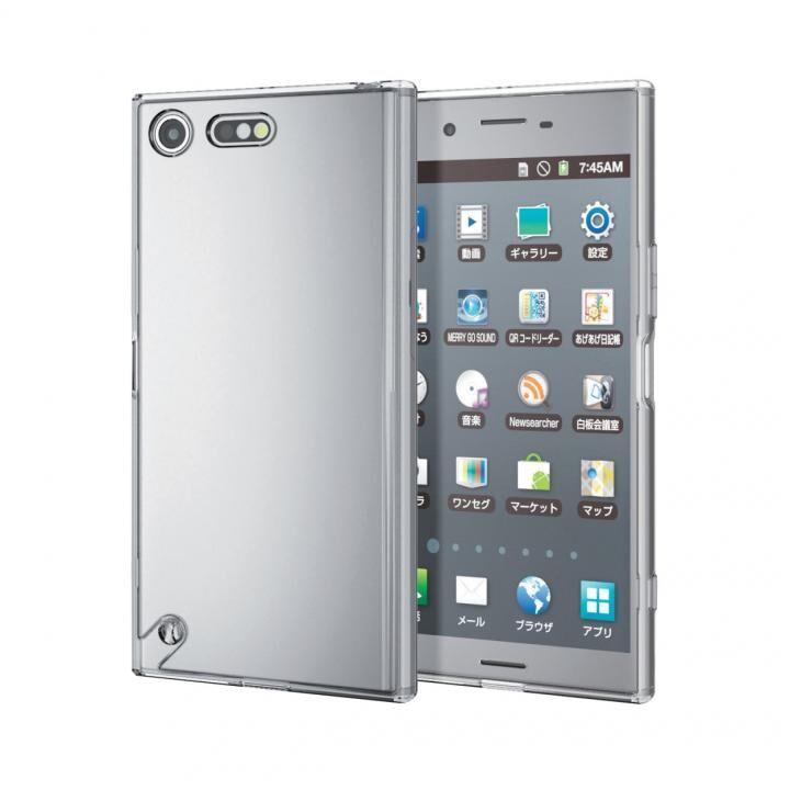 Xperia XZ Premium(SO-04J) ハイブリッドケース 極み クリア_0