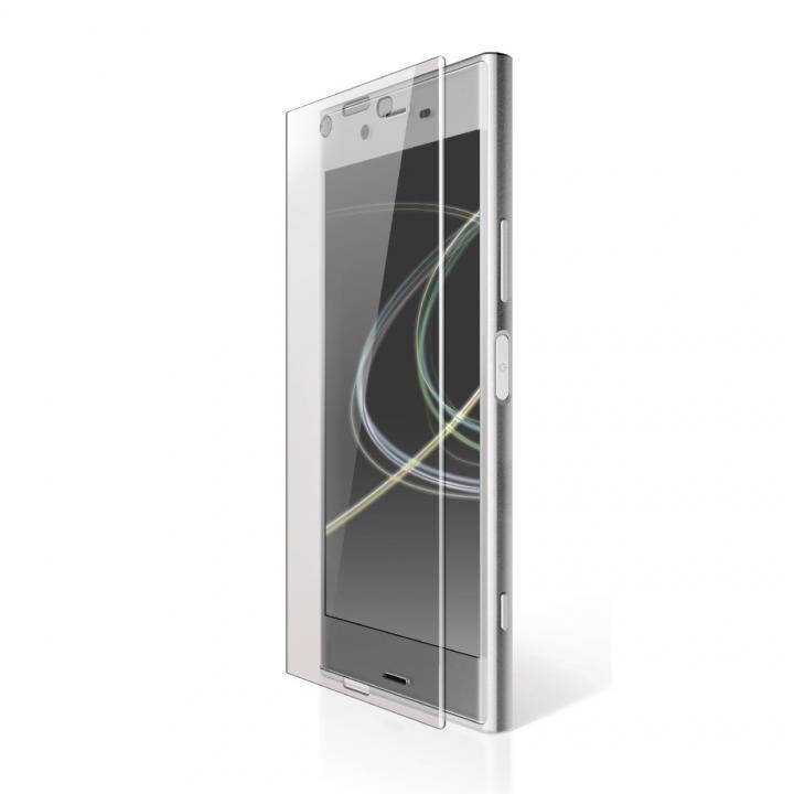 Xperia XZ Premium(SO-04J) フルカバーフィルム 衝撃吸収 防指紋 光沢_0