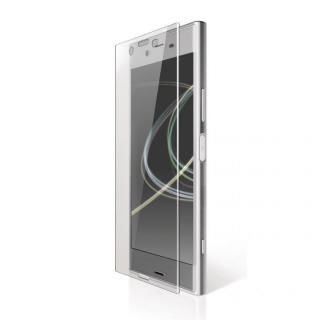 Xperia XZ Premium(SO-04J) フルカバーフィルム 衝撃吸収 防指紋 光沢