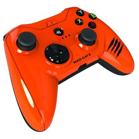 MFi認証ゲームパット Micro C.T.R.L.i Mobile オレンジ_0