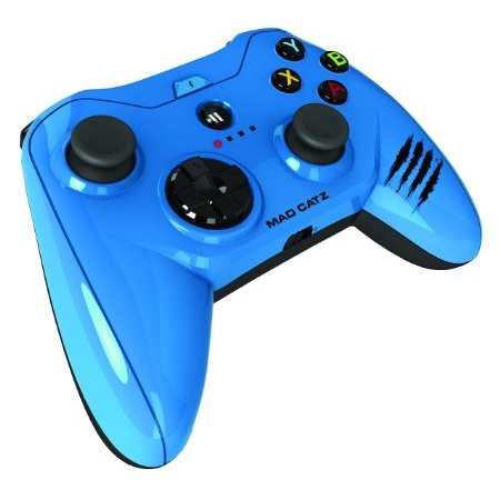 MFi認証ゲームパット Micro C.T.R.L.i Mobile ブルー_0