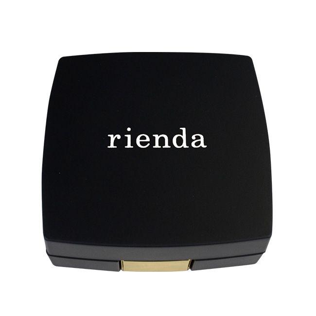 [4200mAh]rienda×コンパクトモバイルバッテリー 「COSMETICK」 マットブラック_0