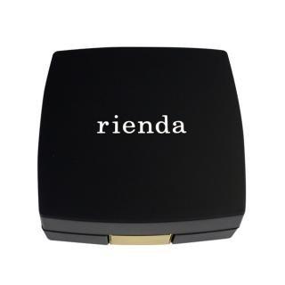 [4200mAh]rienda×コンパクトモバイルバッテリー 「COSMETICK」 マットブラック