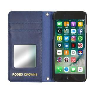 【iPhone8/7/6s/6ケース】RODEOCROWNS スタースタッズ 手帳型ケース デニム iPhone 8/7/6s/6_2