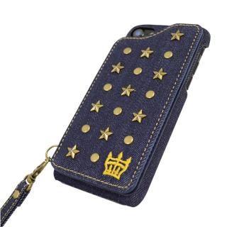 【iPhone8/7/6s/6ケース】RODEOCROWNS スタースタッズ 背面ケース デニム iPhone 8/7/6s/6_3