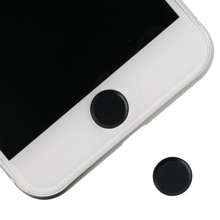 ホームボタンシール Touch ID対応 ブラック/ブラック