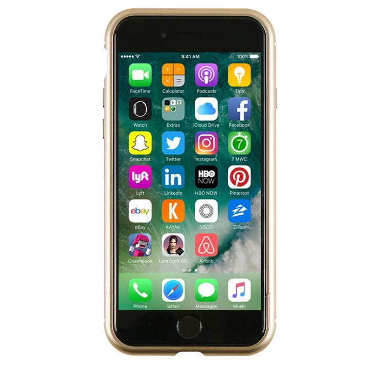 アルミバンパー Round Fit ゴールド iPhone 7