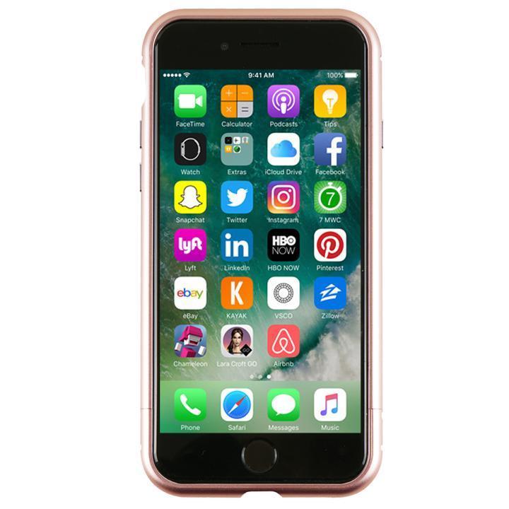 アルミバンパー Round Fit ローズゴールド iPhone 7