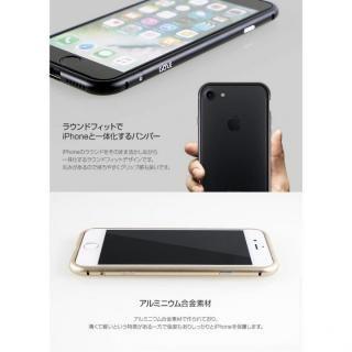 【iPhone7ケース】アルミバンパー Round Fit マットブラック iPhone 7_4