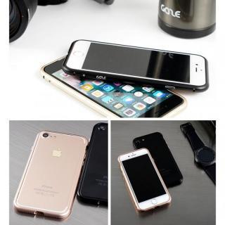 【iPhone7ケース】アルミバンパー Round Fit マットブラック iPhone 7_8