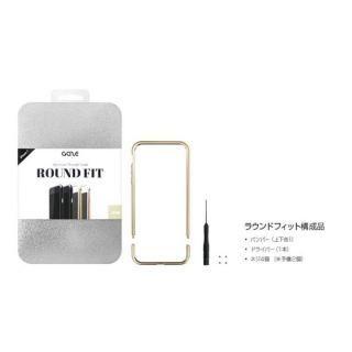 【iPhone7ケース】アルミバンパー Round Fit マットブラック iPhone 7_9
