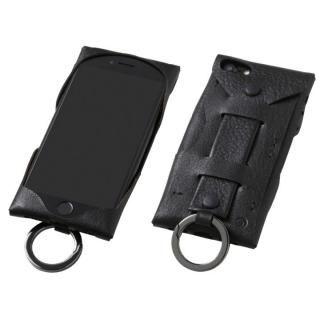 【iPhone8 ケース】Deff Baseball レザーケース Gloves ブラック iPhone 8/7