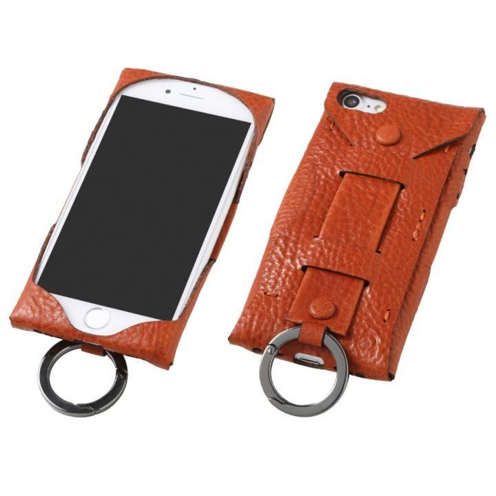 【iPhone8/7ケース】Deff Baseball レザーケース Gloves ブラウン iPhone 8/7_0