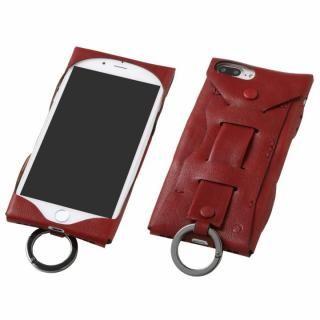 Deff Baseball レザーケース Gloves ワインレッド iPhone 8 Plus/7 Plus