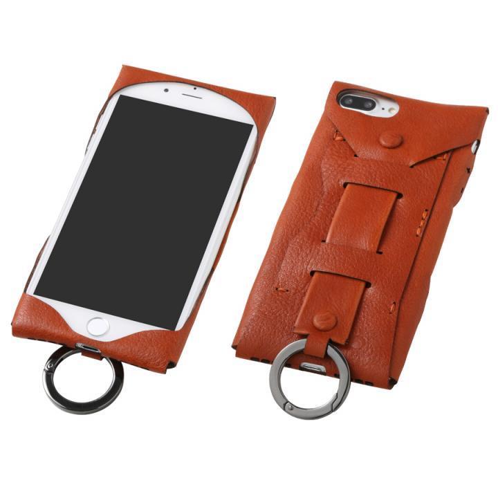 iPhone8 Plus/7 Plus ケース Deff Baseball レザーケース Gloves ブラウン iPhone 8 Plus/7 Plus_0