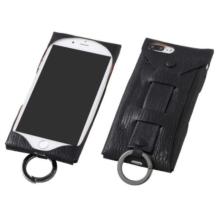 iPhone8 Plus/7 Plus ケース Deff Baseball レザーケース Gloves ディープブルー iPhone 8 Plus/7 Plus_0