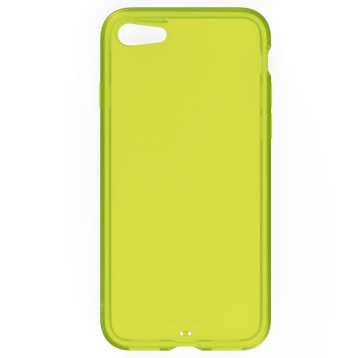 AndMesh プレーンケース クリアライムイエロー iPhone 7