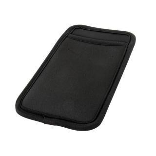 カードポケット付き 傷を防止する スマートフォンマルチスリーブケース ブラック