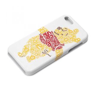 ディズニー iPhone SE/5s/5用 レザーハードケース くまのプーさん