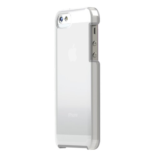 TUNESHELL RubberFrame iPhone SE/5s/5 クリアホワイト