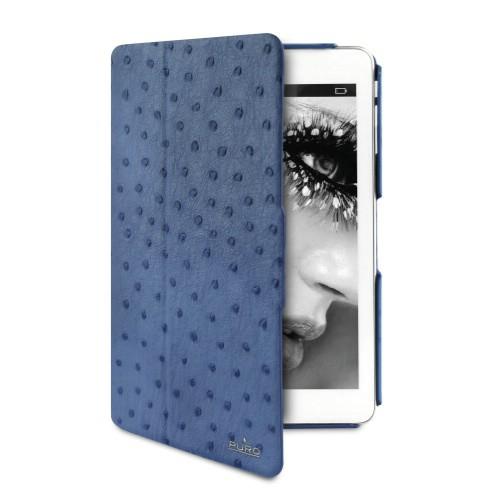 iPad mini/2/3ケース NANDU Magnet and stand up エコレザー ブルー