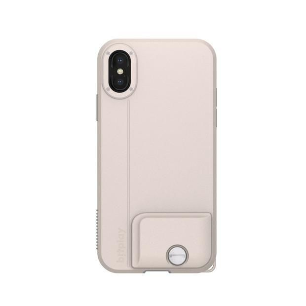 iPhone XS ケース SNAP! CASE 背面ケース カーキホワイト iPhone XS_0