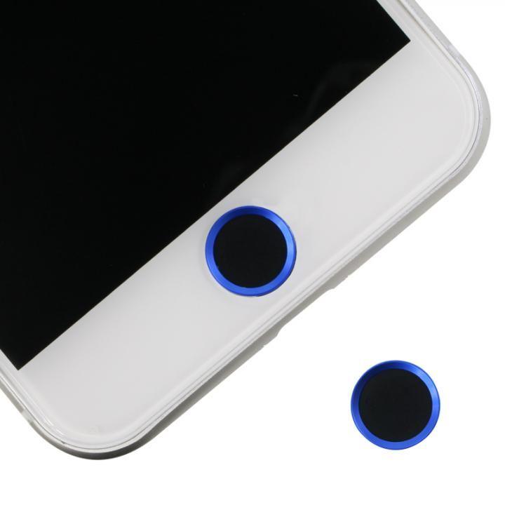 ホームボタンシール Touch ID対応 ブラック/ブルー_0