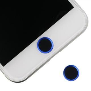 ホームボタンシール Touch ID対応 ブラック/ブルー