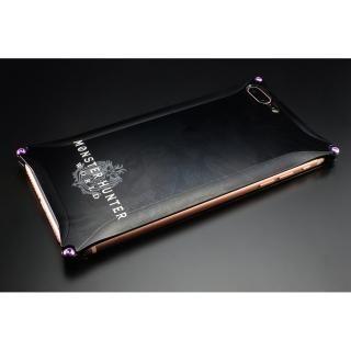 iPhone8 Plus/7 Plus ケース MONSTER HUNTER: WORLD ソリッドケース ネルギガンテ ブラック iPhone 8 Plus/7 Plus