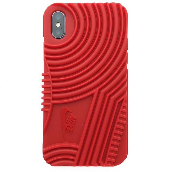 iPhone X ケース NIKE AIR FORCE1 ソフトケース ユニバーシティ―レッド iPhone X_0