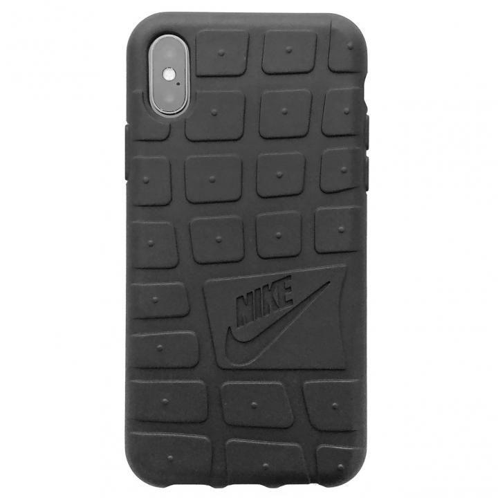 NIKE ローシ ソフトケース ブラック iPhone X