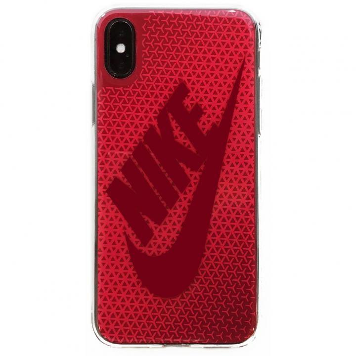 iPhone X ケース NIKE グラフィック Swoosh ラッシュピンク/レッドクラッシュ iPhone X_0