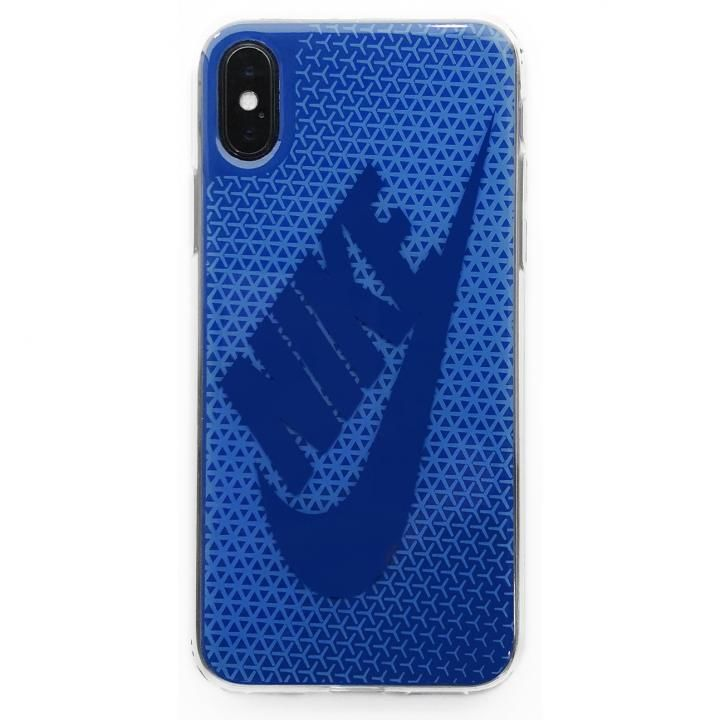 iPhone X ケース NIKE グラフィック Swoosh シグナルブルー/ジムブルー iPhone X_0