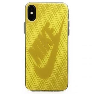 iPhone X ケース NIKE グラフィック Swoosh ブライトシトロン/ダークシトロン iPhone X