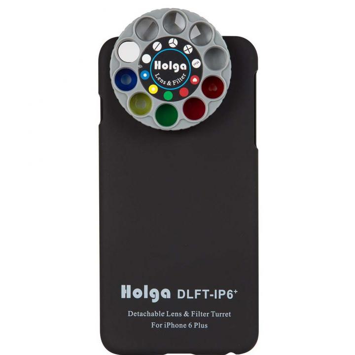 カメラフィルター搭載ケース HOLGA アートエフェクター ブラック iPhone 6 Plus