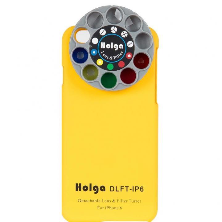 カメラフィルター搭載ケース HOLGA アートエフェクター イエロー iPhone 6