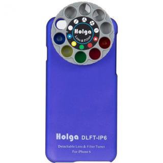 カメラフィルター搭載ケース HOLGA アートエフェクター ブルー iPhone 6