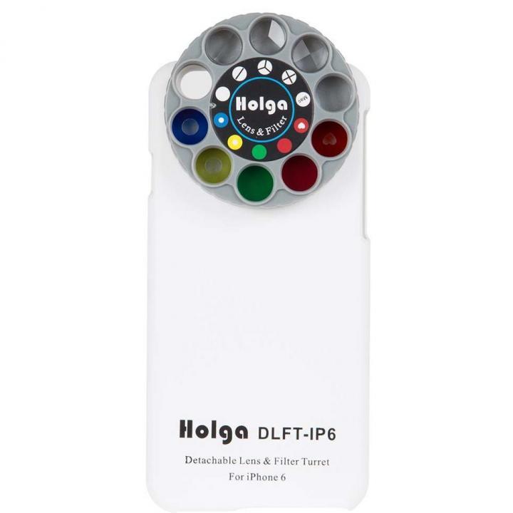 カメラフィルター搭載ケース HOLGA アートエフェクター ホワイト iPhone 6