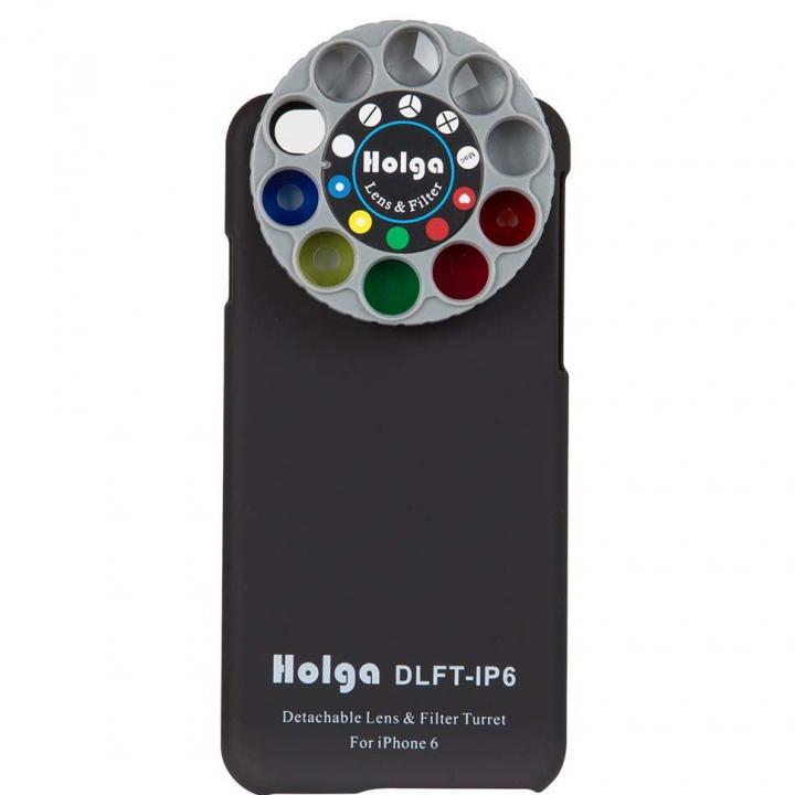 iPhone6 ケース カメラフィルター搭載ケース HOLGA アートエフェクター ブラック iPhone 6_0