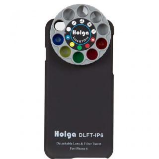 カメラフィルター搭載ケース HOLGA アートエフェクター ブラック iPhone 6