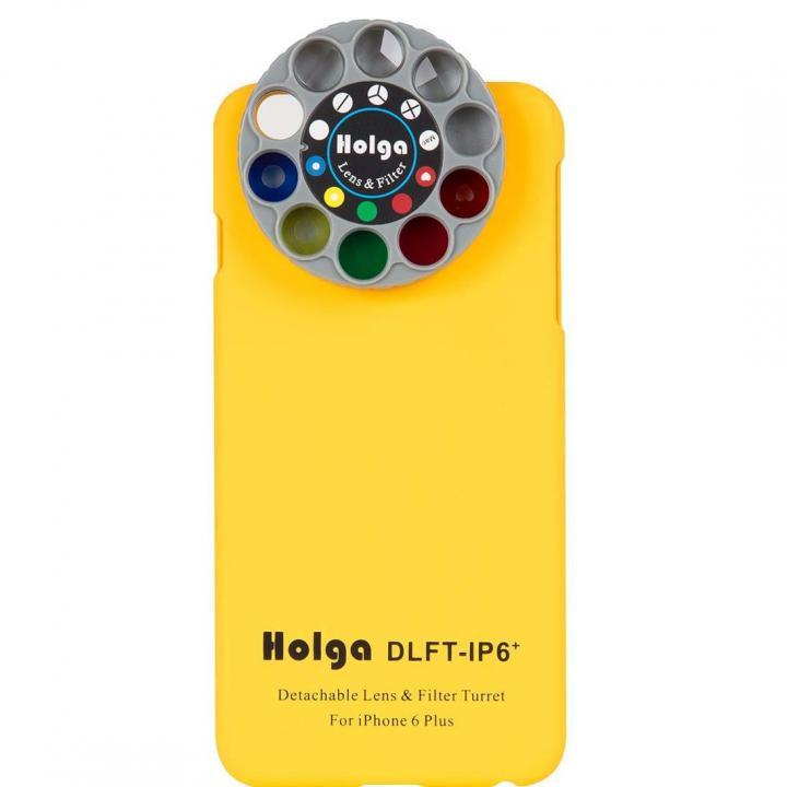 iPhone6 Plus ケース カメラフィルター搭載ケース HOLGA アートエフェクター イエロー iPhone 6 Plus_0