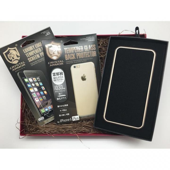 iPhone6s Plus/6 Plus ケース [数量限定]クリスタルアーマー ギフトボックスセット ゴールド iPhone 6s Plus/6 Plus_0