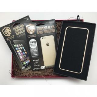【iPhone6s Plus/6 Plusケース】[数量限定]クリスタルアーマー ギフトボックスセット ゴールド iPhone 6s Plus/6 Plus