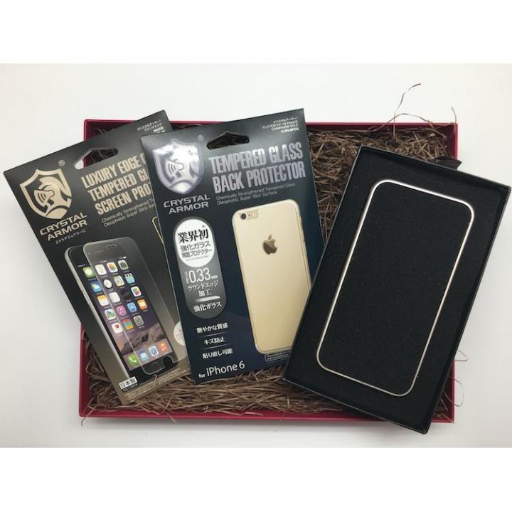 iPhone6s/6 ケース [数量限定]クリスタルアーマー ギフトボックスセット ゴールド iPhone 6s/6_0