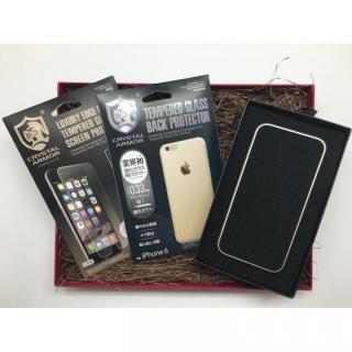 【iPhone6s/6ケース】[数量限定]クリスタルアーマー ギフトボックスセット ゴールド iPhone 6s/6