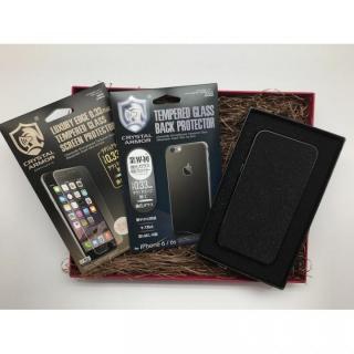 【iPhone6s/6ケース】[数量限定]クリスタルアーマー ギフトボックスセット ブラック iPhone 6s/6