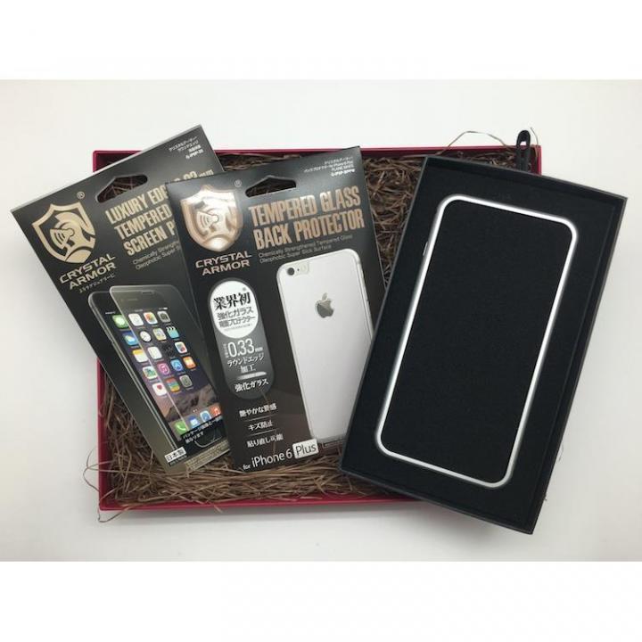 iPhone6s Plus/6 Plus ケース [数量限定]クリスタルアーマー ギフトボックスセット シルバー iPhone 6s Plus/6 Plus_0