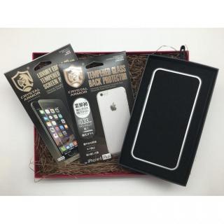 【iPhone6s Plus/6 Plusケース】[数量限定]クリスタルアーマー ギフトボックスセット シルバー iPhone 6s Plus/6 Plus