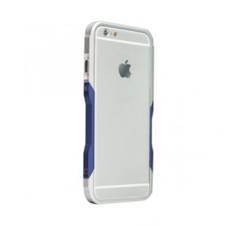 【iPhone6ケース】飽きることのないデザイン GRAVITY CASTRUM シルバー×ブルー iPhone 6バンパー_1