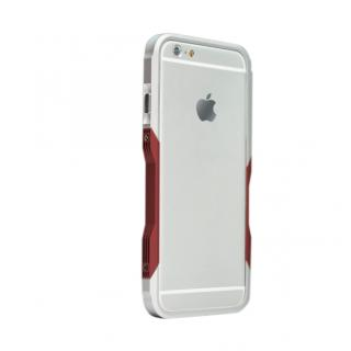【iPhone6ケース】飽きることのないデザイン GRAVITY CASTRUM シルバー×レッド iPhone 6バンパー_1